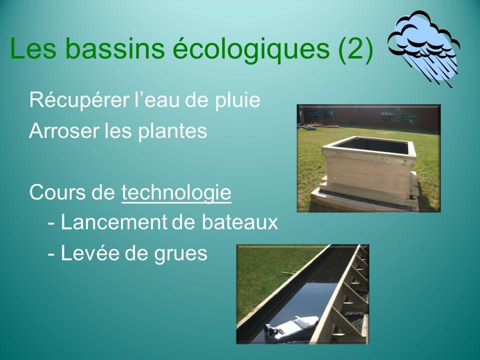 Les bassins écologiques (2)