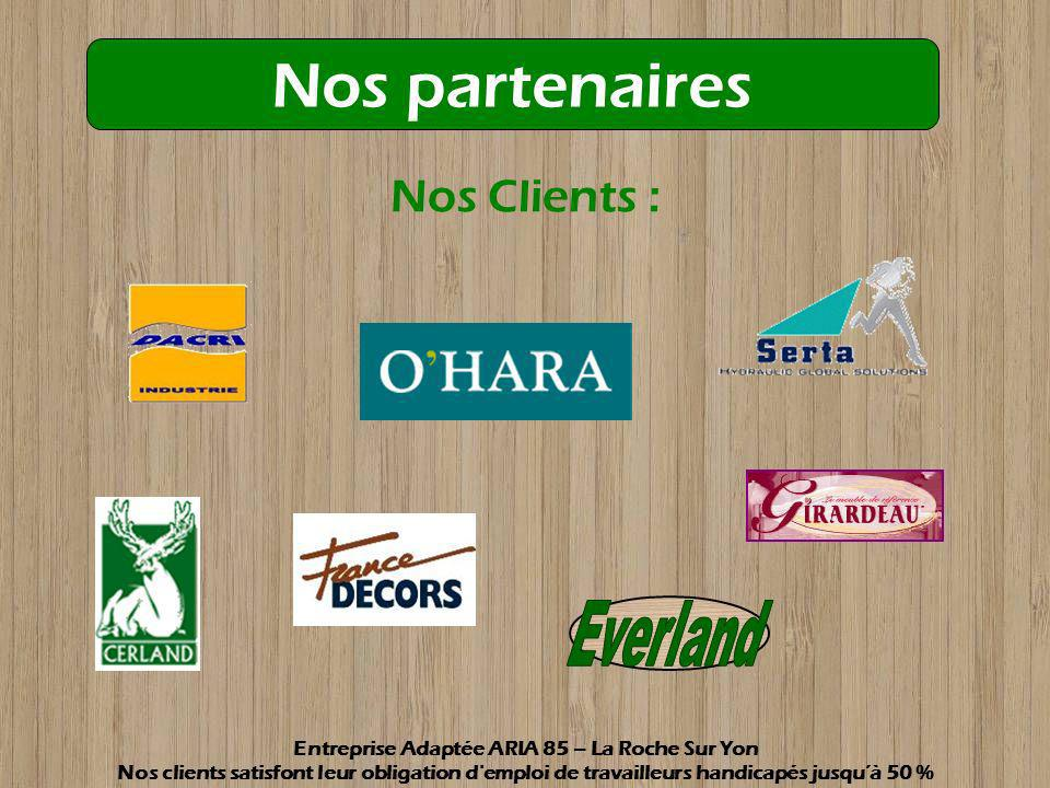 Entreprise Adaptée ARIA 85 – La Roche Sur Yon