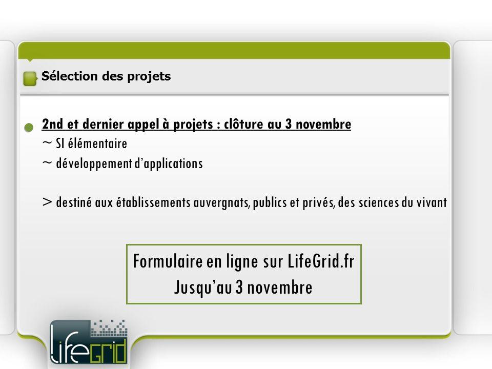 Formulaire en ligne sur LifeGrid.fr