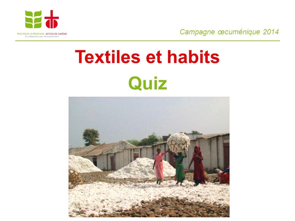 Textiles et habits Quiz