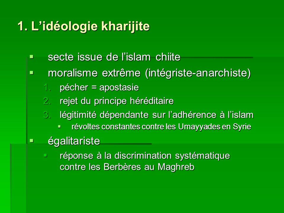 1. L'idéologie kharijite