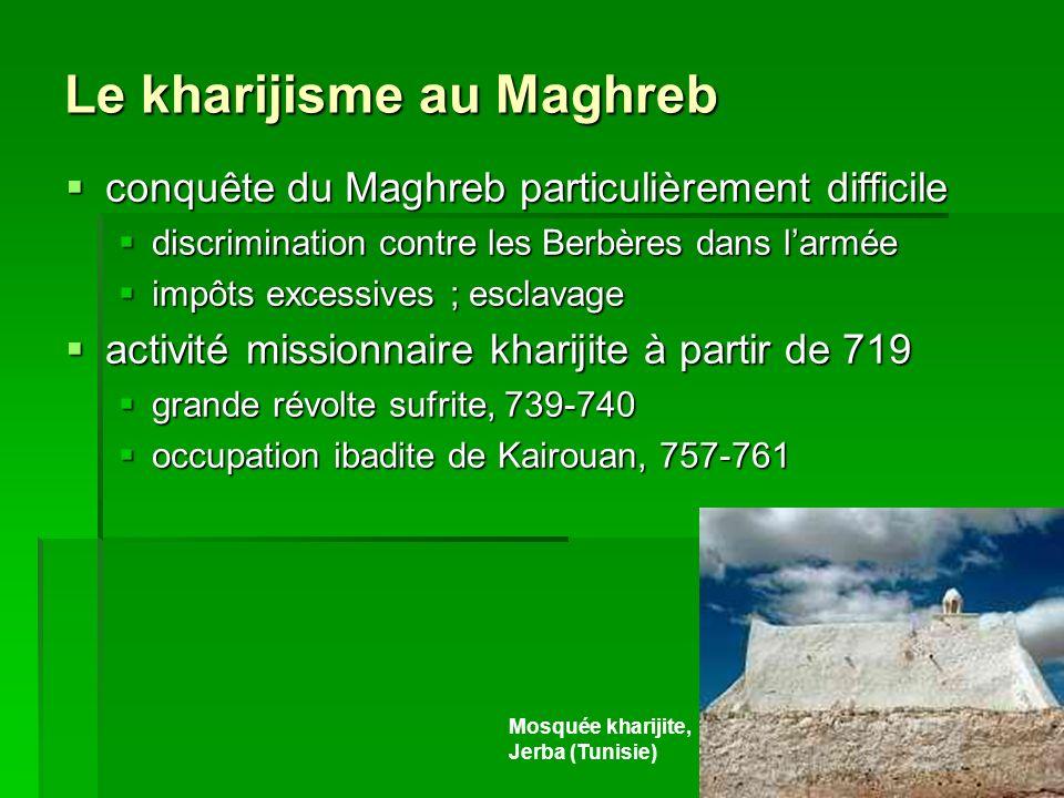 Le kharijisme au Maghreb