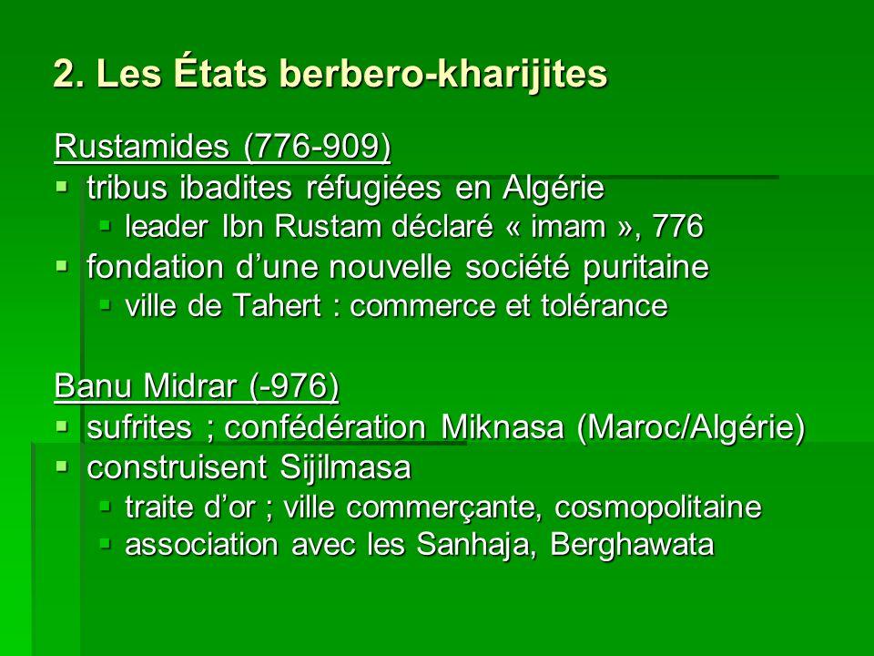 2. Les États berbero-kharijites