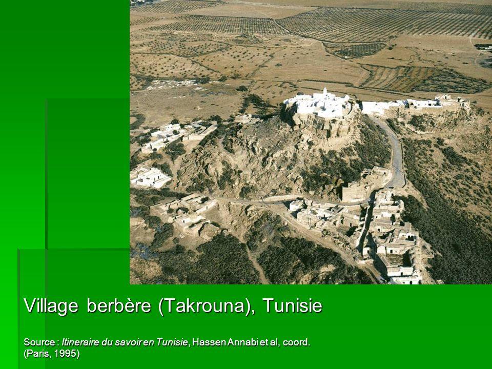 Village berbère (Takrouna), Tunisie