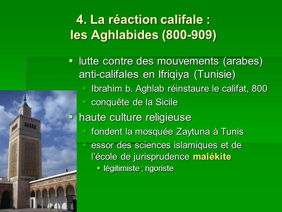 4. La réaction califale : les Aghlabides (800-909)