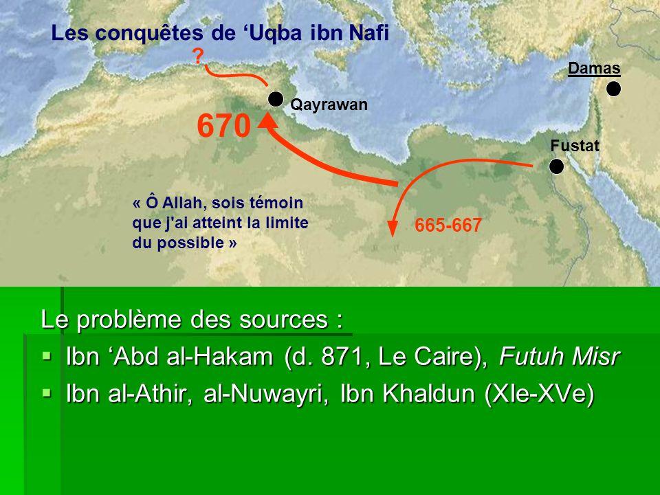 670 Le problème des sources :
