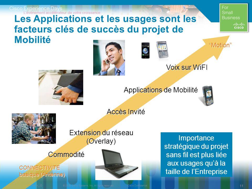 Applications de Mobilité