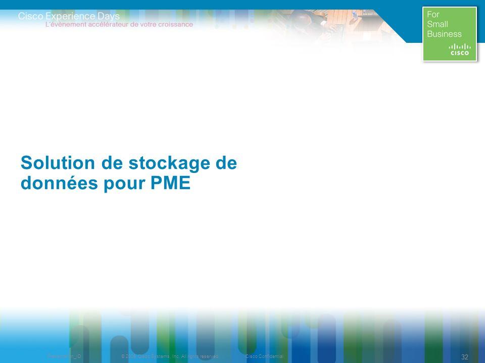Solution de stockage de données pour PME