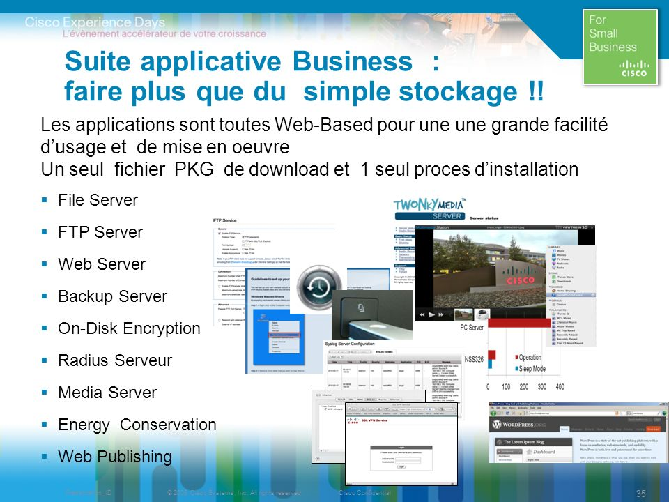Suite applicative Business : faire plus que du simple stockage !!
