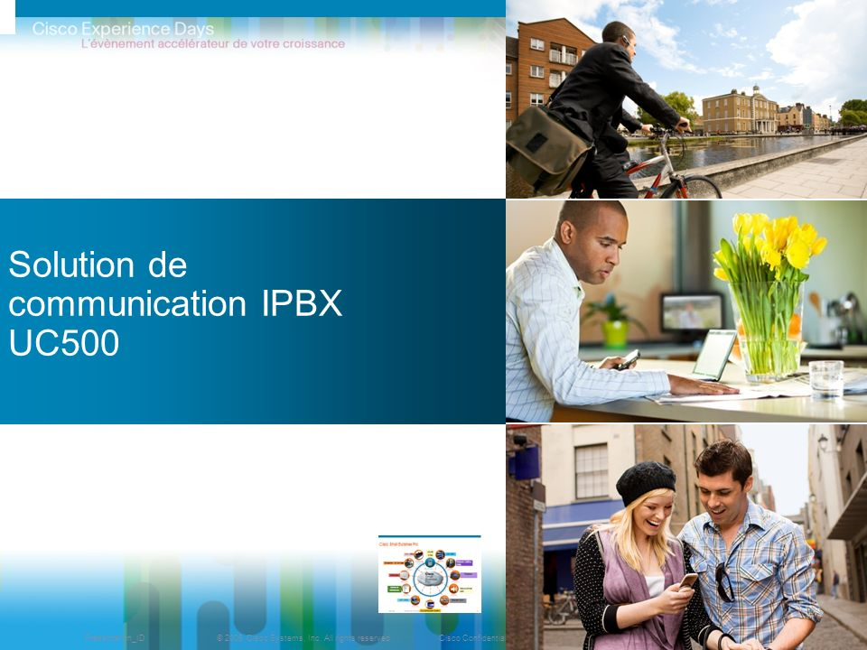 Solution de communication IPBX UC500
