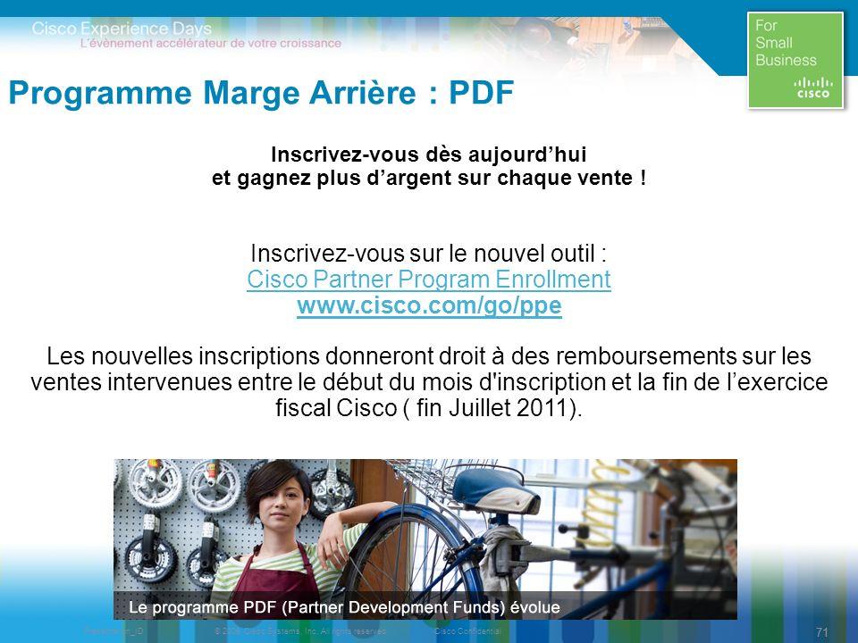 Programme Marge Arrière : PDF
