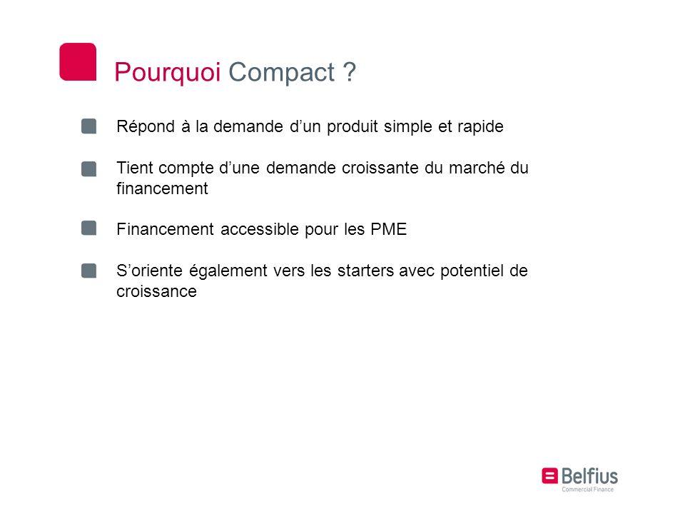 Pourquoi Compact Répond à la demande d'un produit simple et rapide