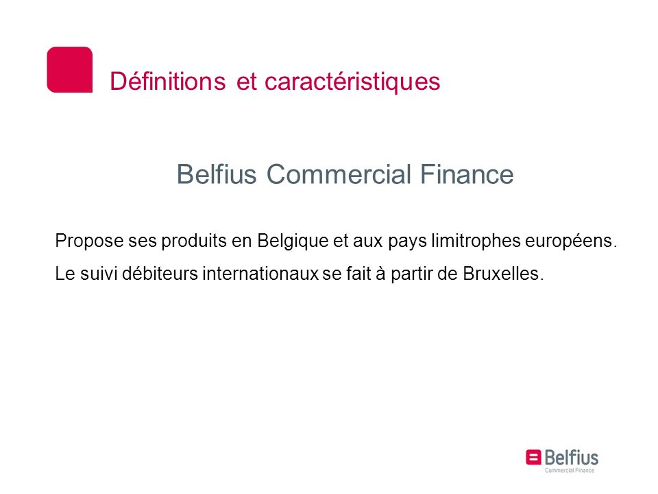 Belfius Commercial Finance