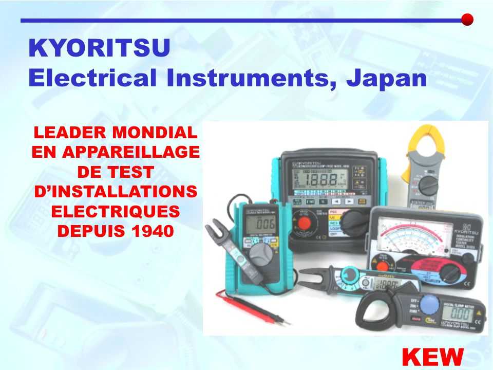Electrical Instruments, Japan