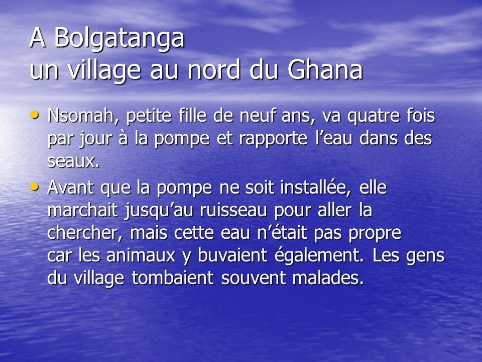 A Bolgatanga un village au nord du Ghana