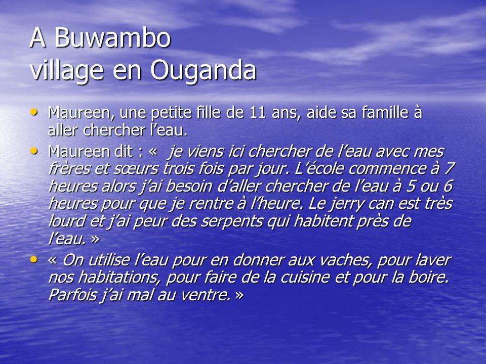 A Buwambo village en Ouganda