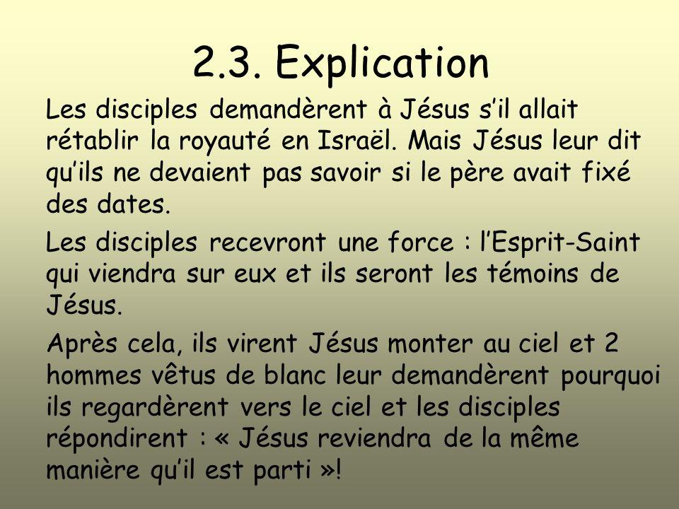 2.3. Explication