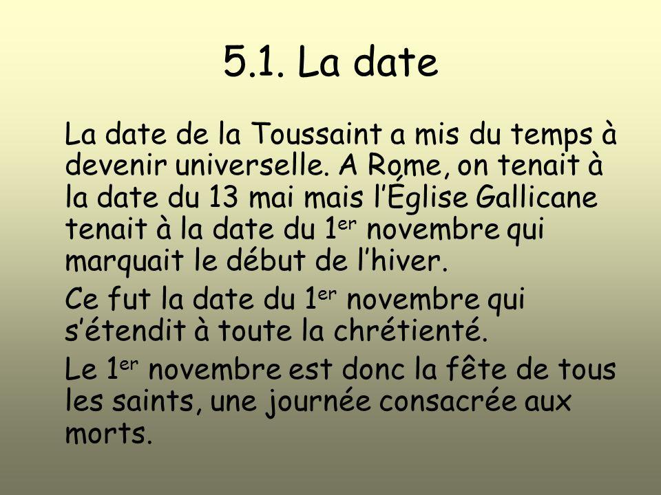 5.1. La date