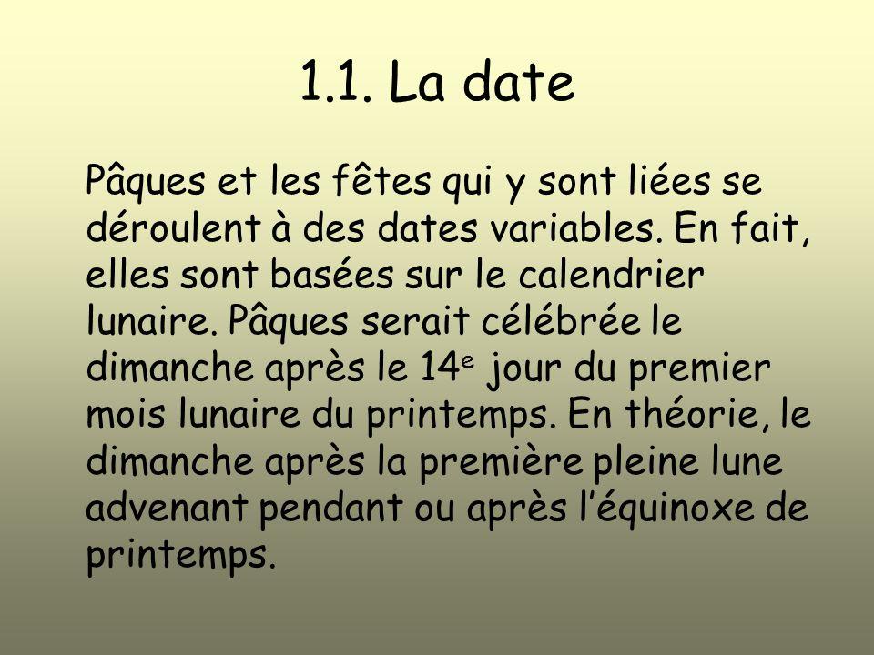 1.1. La date