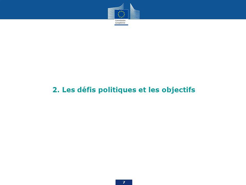 2. Les défis politiques et les objectifs