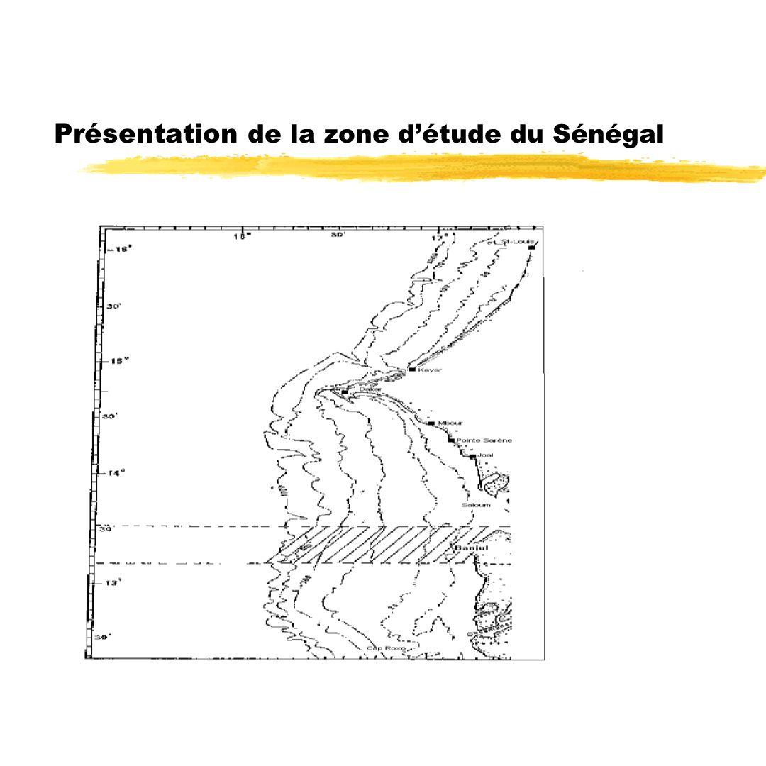 Présentation de la zone d'étude du Sénégal