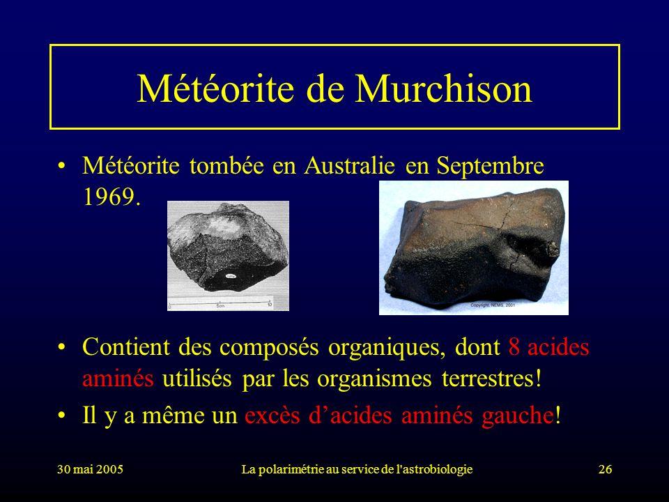 Météorite de Murchison