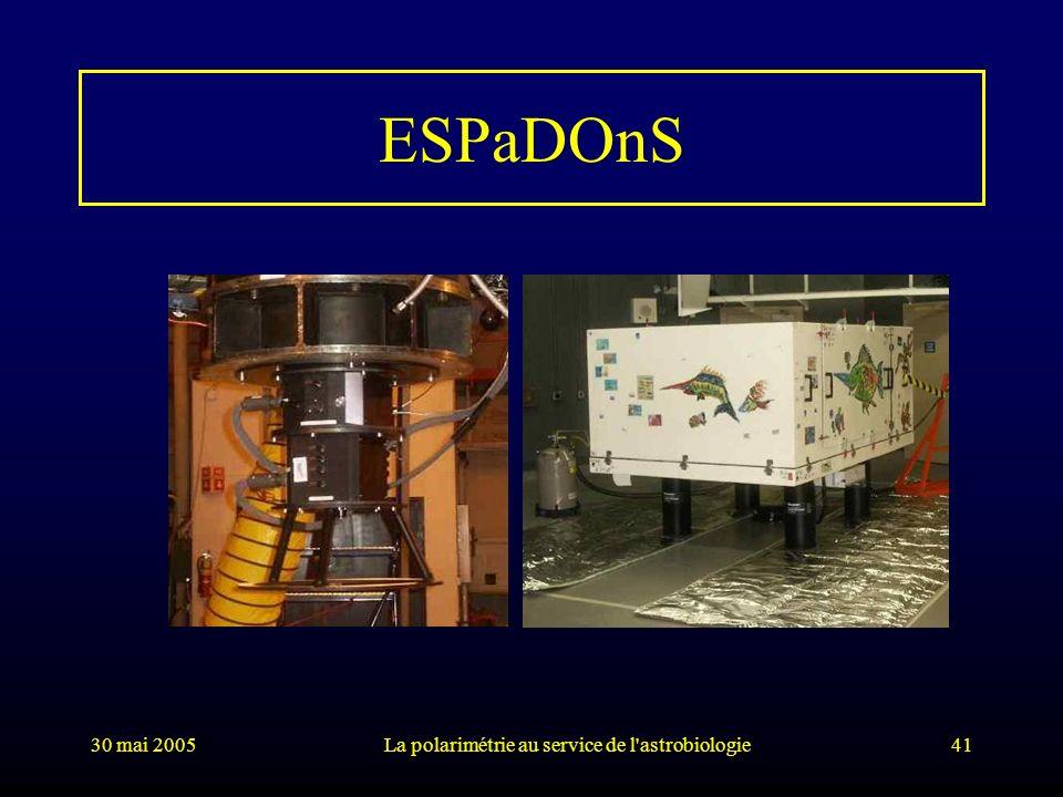 La polarimétrie au service de l astrobiologie
