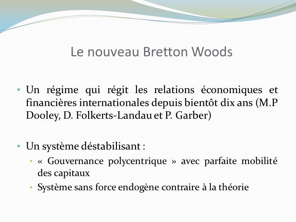 Le nouveau Bretton Woods