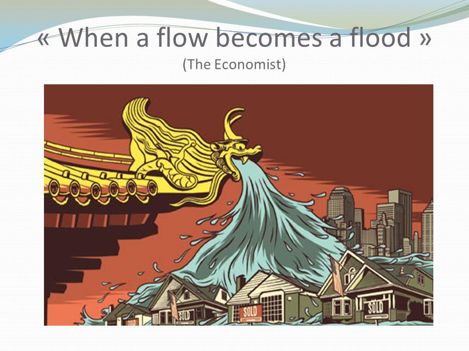 « When a flow becomes a flood » (The Economist)