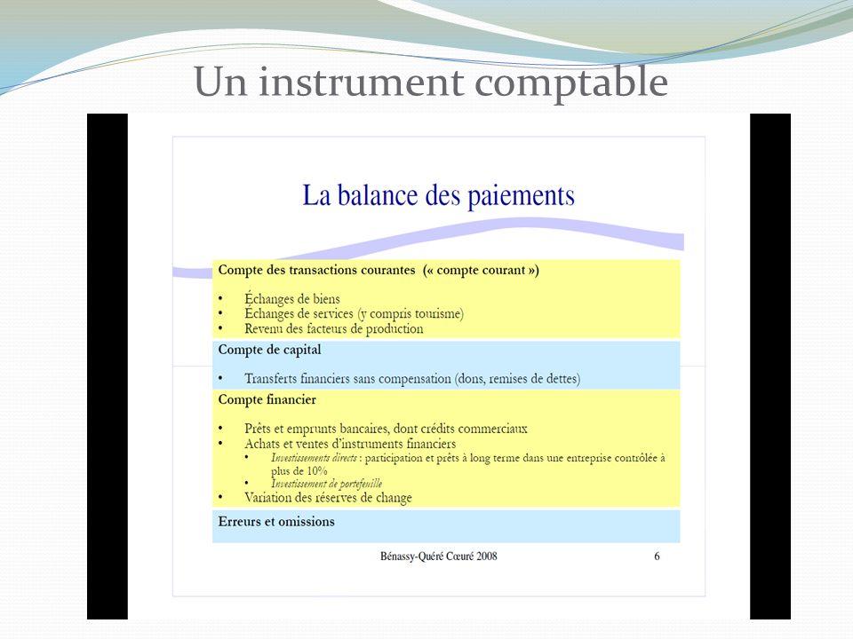 Un instrument comptable