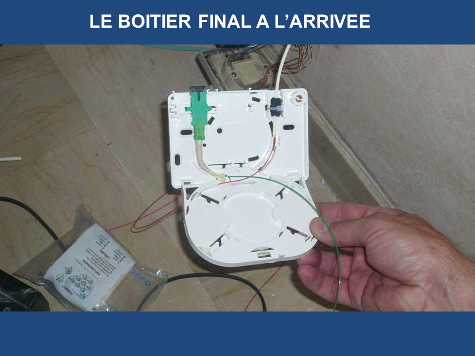 LE BOITIER FINAL A L'ARRIVEE