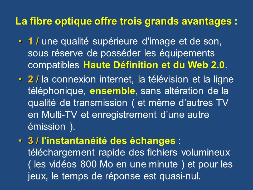 la fibre optique bernard maudhuit ppt video online t l charger. Black Bedroom Furniture Sets. Home Design Ideas