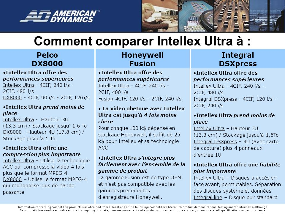 Comment comparer Intellex Ultra à :