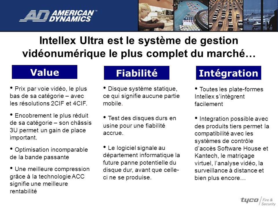 Intellex Ultra est le système de gestion vidéonumérique le plus complet du marché…