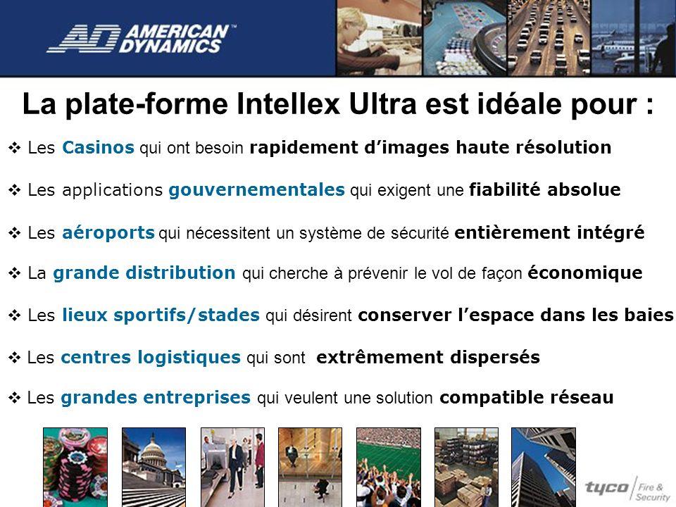 La plate-forme Intellex Ultra est idéale pour :