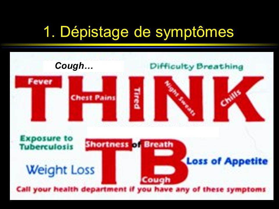 1. Dépistage de symptômes