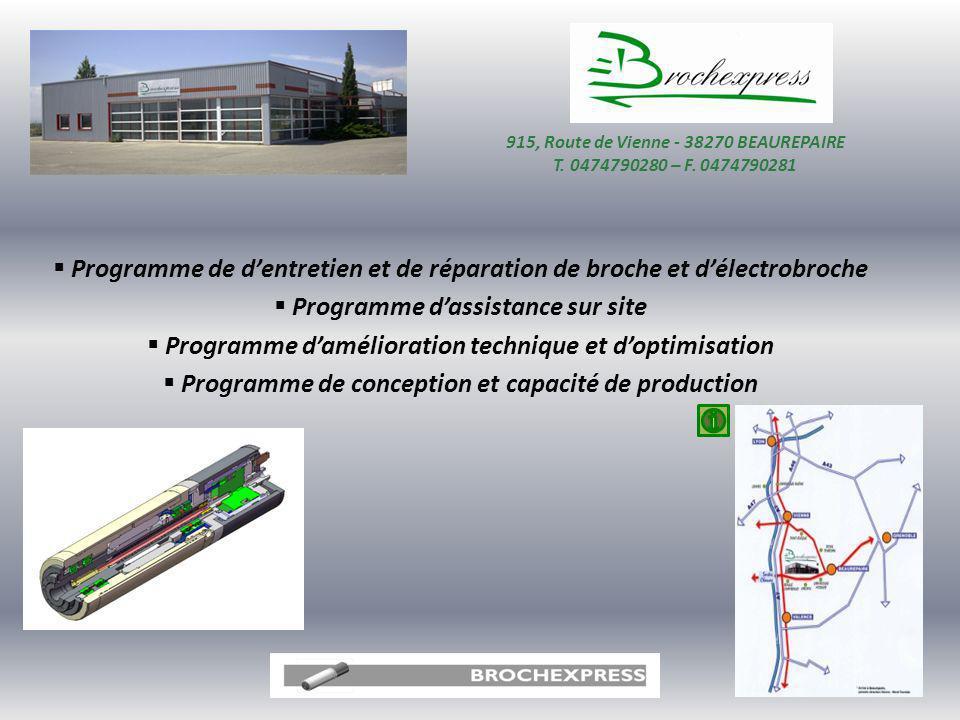 915, Route de Vienne - 38270 BEAUREPAIRE T. 0474790280 – F. 0474790281