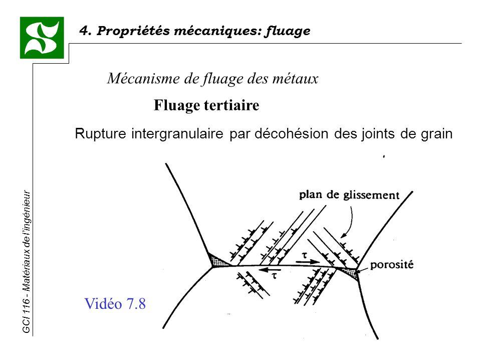 Rupture intergranulaire par décohésion des joints de grain