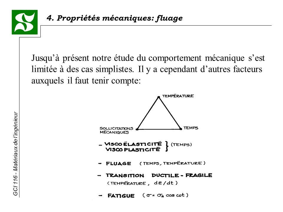 Jusqu'à présent notre étude du comportement mécanique s'est limitée à des cas simplistes.