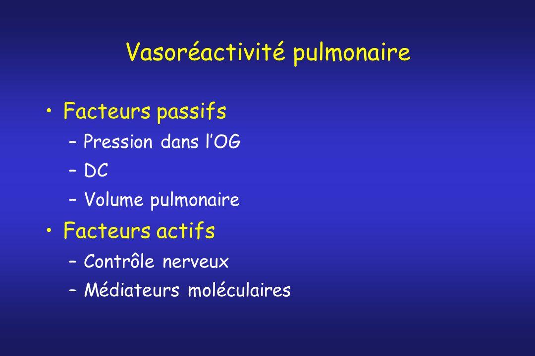 Vasoréactivité pulmonaire