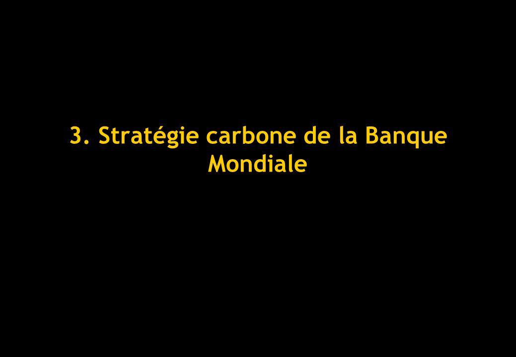 3. Stratégie carbone de la Banque Mondiale