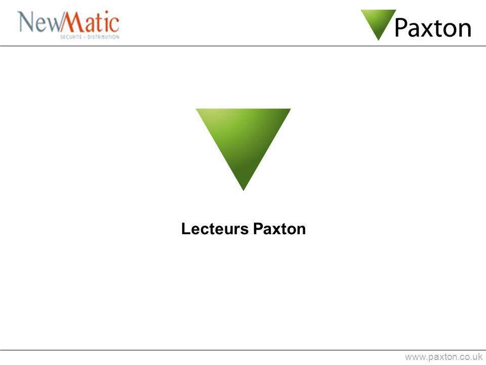 Lecteurs Paxton www.paxton.co.uk 1 min 0:53