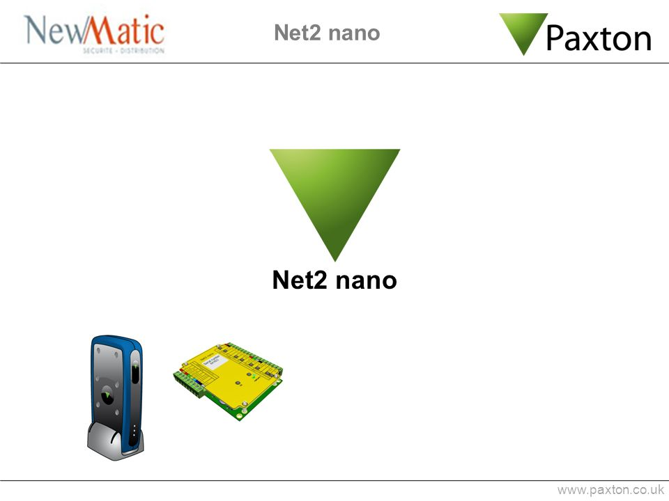 Net2 nano Net2 nano www.paxton.co.uk 1 min 0:53