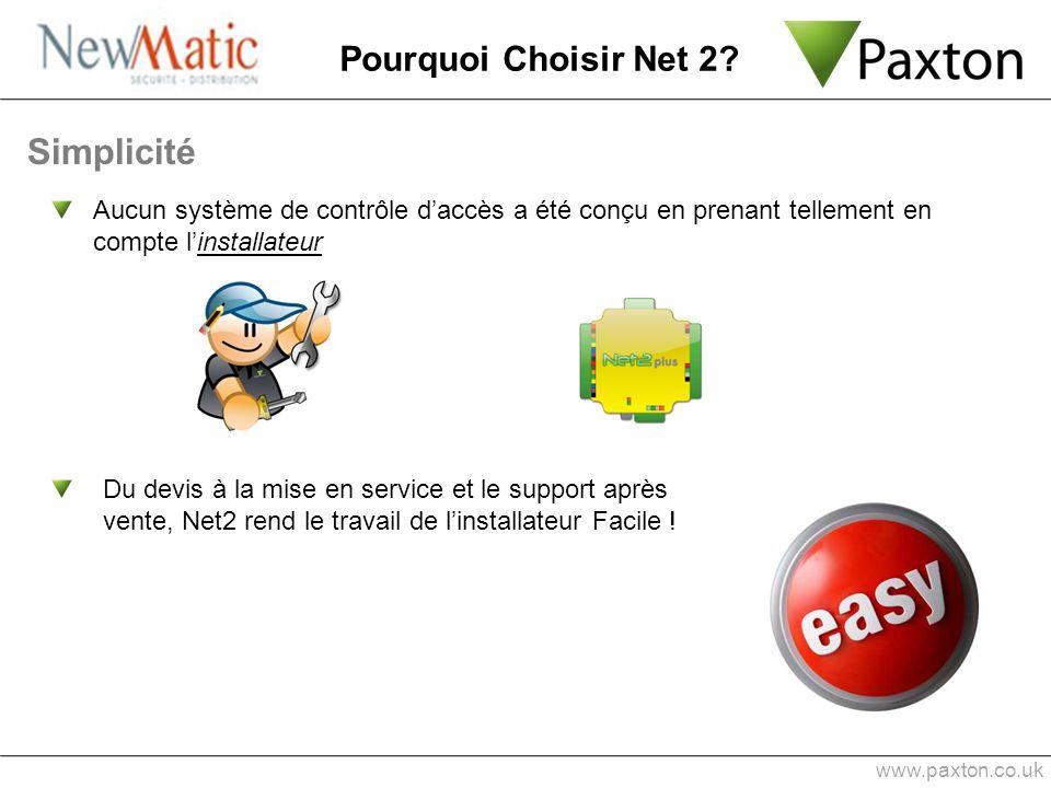 Simplicité Pourquoi Choisir Net 2