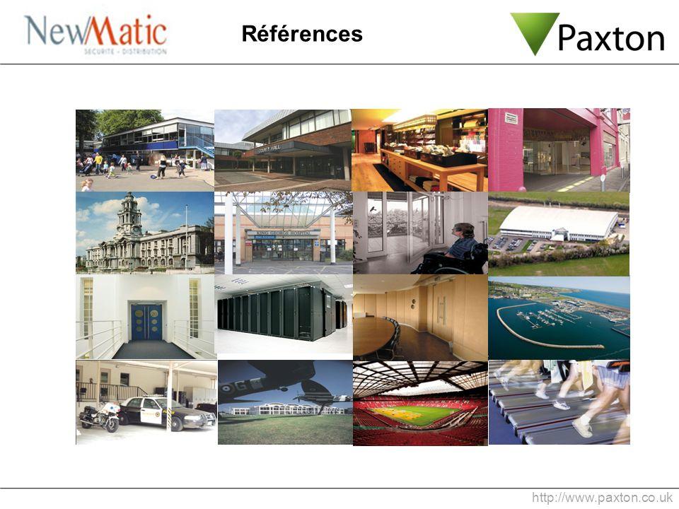 Références http://www.paxton.co.uk