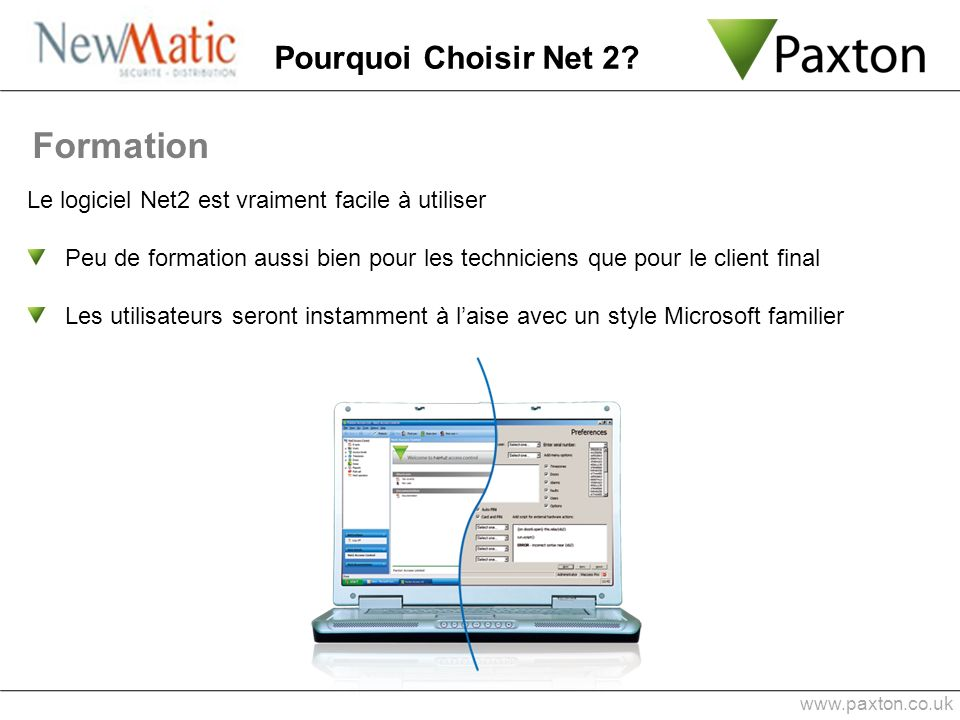 Formation Pourquoi Choisir Net 2