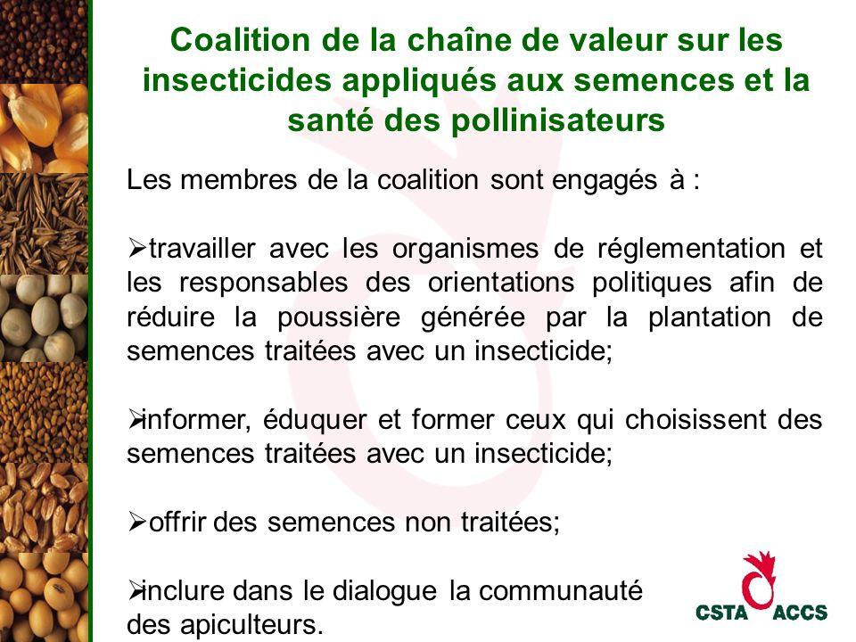 Coalition de la chaîne de valeur sur les insecticides appliqués aux semences et la santé des pollinisateurs