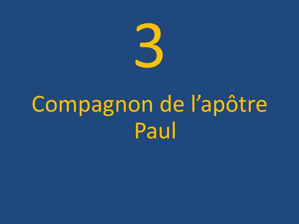 Compagnon de l'apôtre Paul