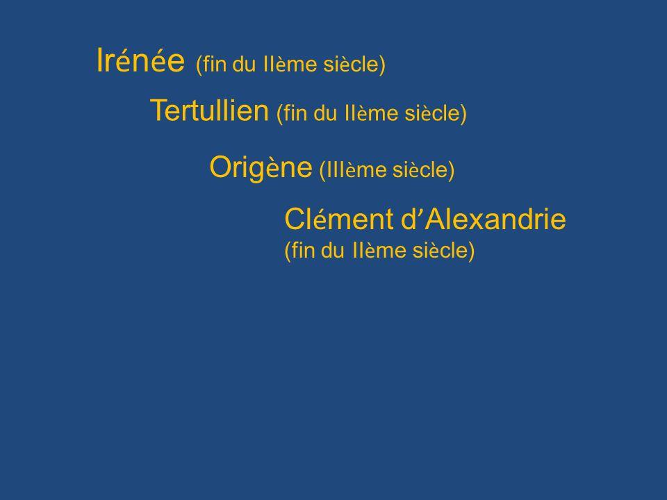 Irénée (fin du IIème siècle)