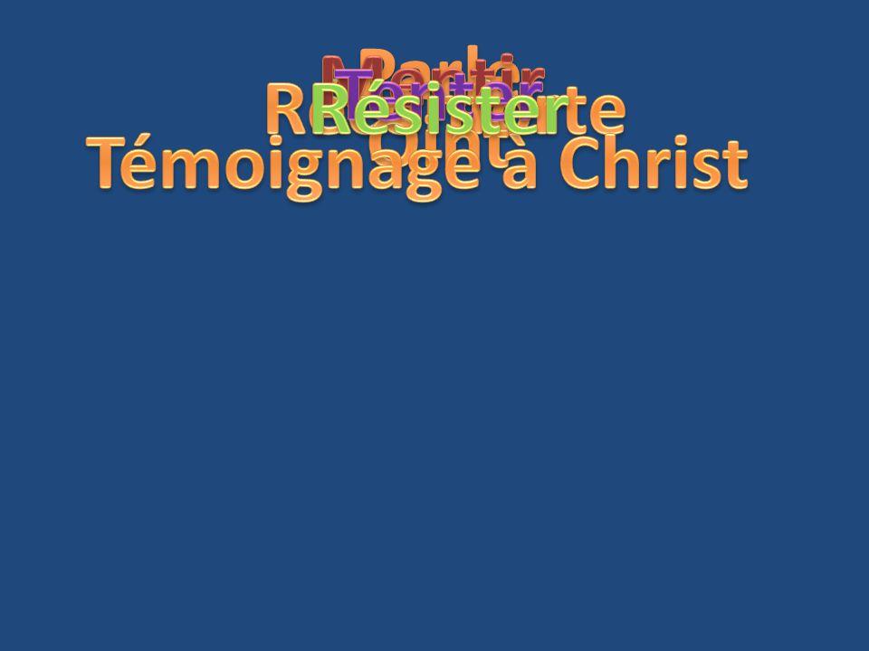 Parle Mentir Tenter Résister Réconforte Oint Témoignage à Christ